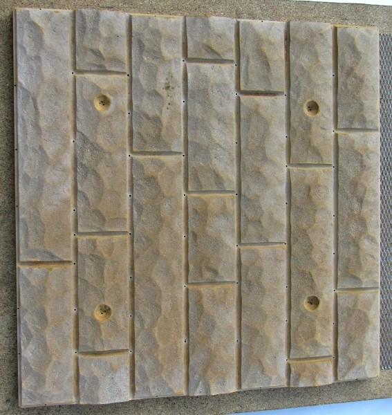 """Формы для полифасада """"Колотый камень"""". Материал АБС пластик 1,5мм или ПВХ 1мм."""