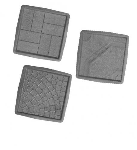 Формы для производства тротуарной плитки 400х400х50мм