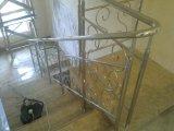Фото  5 Перила, лестницы, поручни нержавеющая сталь под ключ вовремя!!! : поручень 50мм. стойка 33мм. заполнение 20 мм. 89390