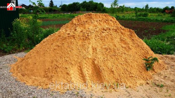 Фото 1 Песок овражный (карьерный). Цена от 70грн/т 341542
