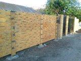 Изготовление цветных бетонных заборов на основе цемента М500 и новой технологии армировки бетонна.