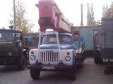Услуга по выполнению работ автовышками АГП-18 по подъему людей и грузов в Броварах.