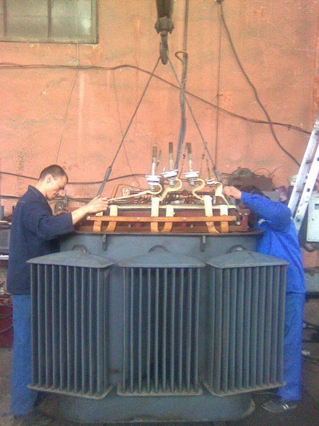 Фото 1 Ремонт силовых трансформаторов, марка ТМ; ТМГ; ТМЗ 25-1000 кВ.А 338893