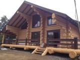 Строительство домов из дикого сруба (ручной тёс). Канадская чашка. Качественная зарезка.