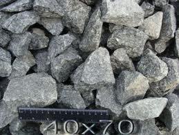 фр. 25х60 , 40х70 мм - велика фракція , використовується у виробництві бетону. Доставка від 1куб . м у м. Львові та обл.