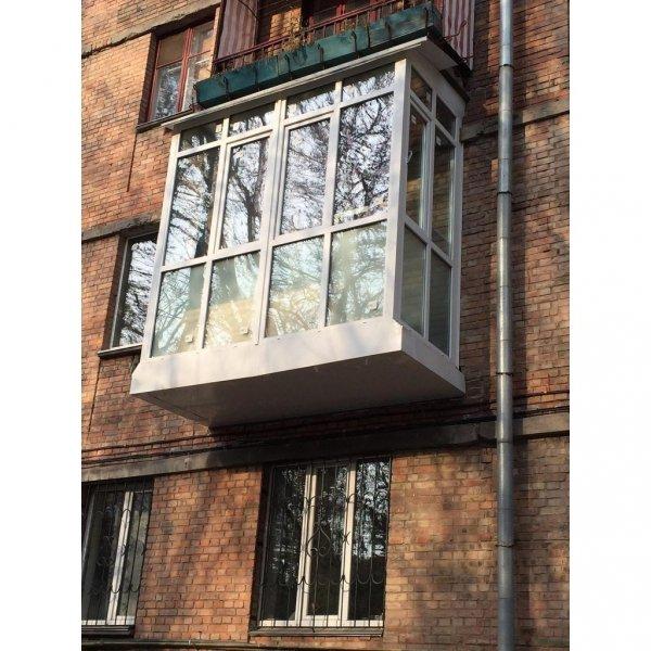 Фото  1 Французский балкон с выносом по полу 1444790