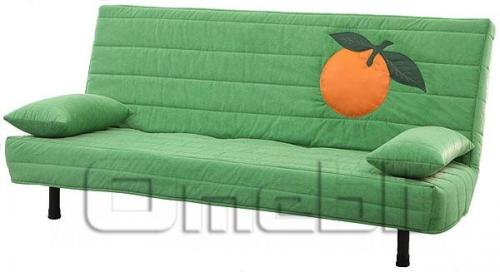 Фреш Клик-кляк диван ППУ Микрофибра темно-зеленая A32876