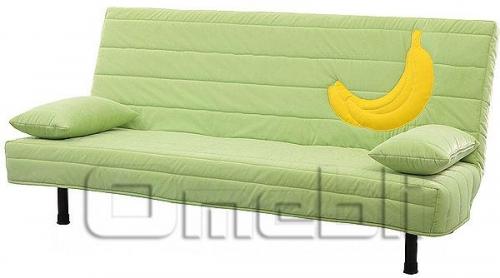 Фреш Клик-кляк диван ППУ Микрофибра зеленая A32871