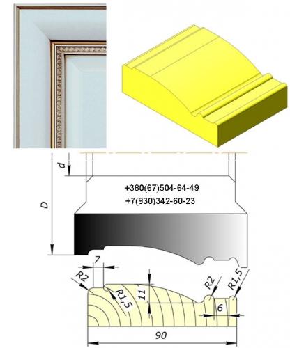 Фрезы для мебельного фасада