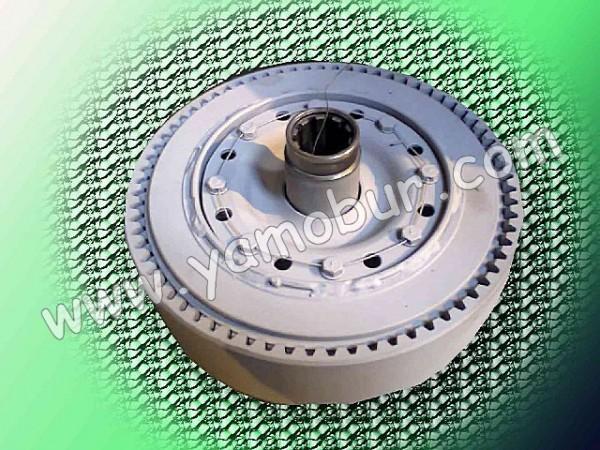 Фрикцион и фрикционные диски для бурокрановых машин (ямобуров) БМ-205, БМ-302 и их модификаций.