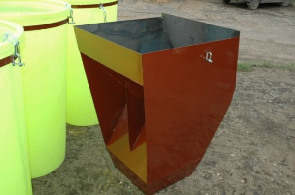 Фото  1 Элементы мусоросброса - рама-кронштейн, гаситель скорости 1808827