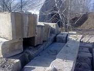 Фундаментные блоки ФБС 24-30-60 в отличном состоянии с доставкой по городу и области на обьект.
