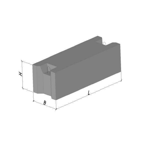 Фундаментний блок ФБС 12.4.6Т В12 , 5