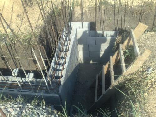 Фундаментный блок (несъемная опалубка)для устройства фундаментов домов. БФ 50х20х20 В наличии и др. типоразмеры