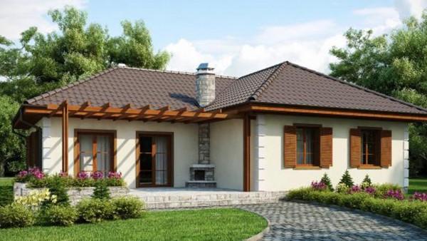 Функциональный каркасный дом