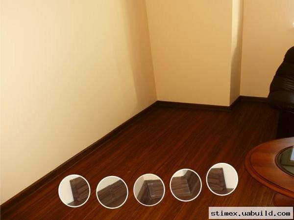 Фурнітура до плінтуса декорована: Кут зовнішній/кут внутрішній З'єднувач/ Заглушка