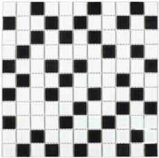 плитка мозаика Fusion Black mix 300x300x4мм