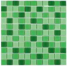 плитка мозаика Fusion Deep Green 300x300x4мм