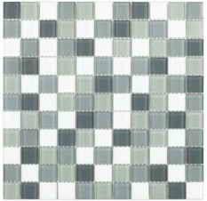 плитка мозаика Fusion Grey Mix 300x300x4мм