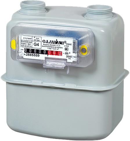Счетчик газовый САМГАЗ G-4