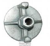 Гайка анкерная фланцевая, стальная оцинкованная 90 или 100мм диаметр