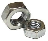 Гайка шестигранная; стандарт: DIN 934; Класс прочности: 6; оцинкованная