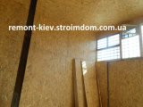 Фото  7 Монтаж ОСБ (OSB) панелей на стену, потолок. 86562