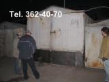 Подъём гаража металлического. Увеличение высоты гаража на 40-80 см. Только работа.