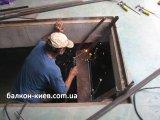 Фото  1 Ремонт лестницы в подвал гаража. Только работа. Киев 1983197