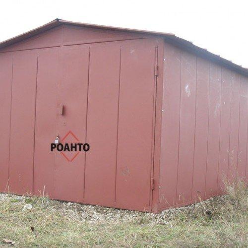 Фото 4 гаражі з профілю і листового металу 329398