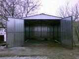 Фото 2 Металевий гараж з профнастилу 0,5 мм 303256