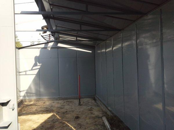 Фото 5 Металевий гараж зі сталі 1,2 мм 303252