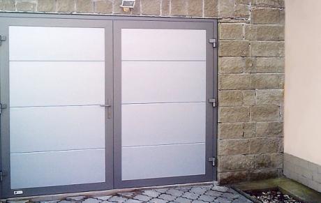 Гаражные распашные секционные ворота, Винница и Винницкая область