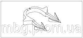 Гарпун-скоба RAUTAC для крепления труб D14,16.17 мм