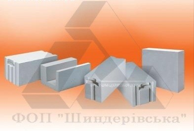 Газобетон, газлблок AEROK Обухов