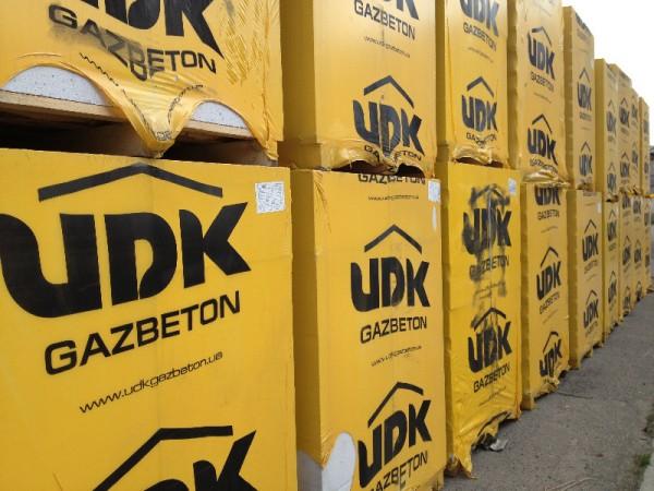 Газобетон UDK с доставкой на объект по Харькову и Обл.