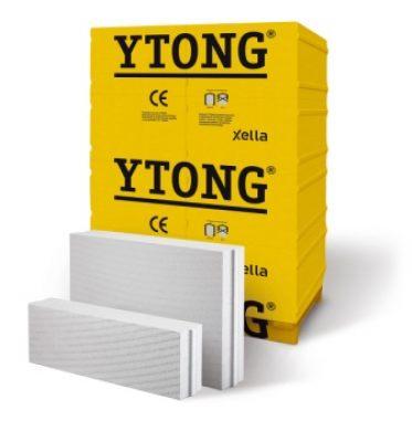 Газобетон YTONG PP3/0,5 INTERIO паз-гребень, шир. 10 см, 60 штук на палете