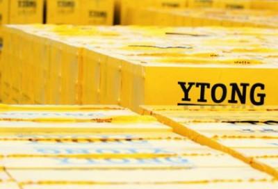 Газобетоны YTONG PP3/0,5 паз-гребень, захват шир. 40 см, 32 штуки на палете