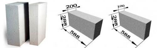 """Газобетонный блок """"двадцатка&quot ; 25-30 грн/шт или 650 грн/куб."""