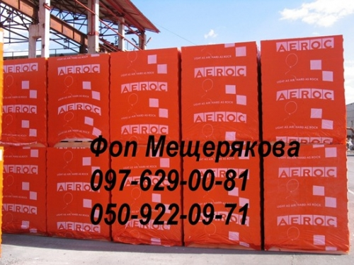 Газоблок AEROC EcoTerm