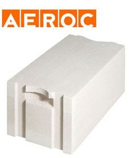 Газоблок AEROC EcoTerm D-400 паз-гребень 400*200*600