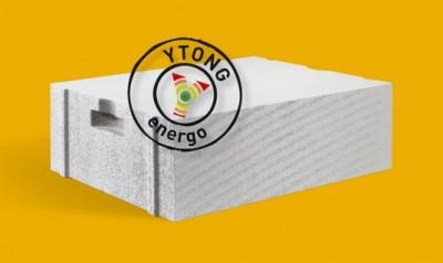 Газоблоки YTONG ENERGO PP2/0,35 паз-гребінь, захват шир. 36,5 cm, 32 шт/палета