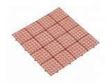 Фото  1 Газонная решетка Альта-Профиль универсальная 10,5 мм 333х333 мм коричневый 2037945