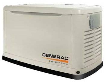 Газовая электростанция (тихая) Мощность: 10 кВт Двигатель: Generac Уровень шума: 65 дБ Расход: 6,0 м3/час Вес: 170 кг