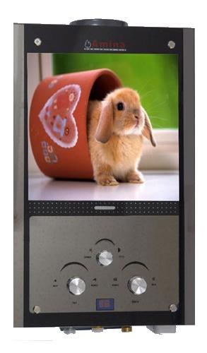Газовая колонка Amina ВПГУ-18 small rabbit 10L Lcd