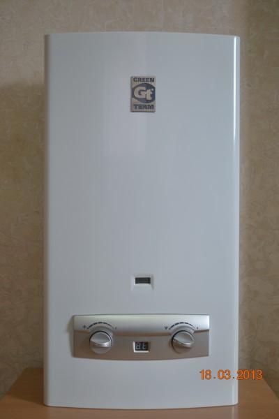 Газовая колонка GreenTerm ВПГ-22 WHITE 11L Lcd