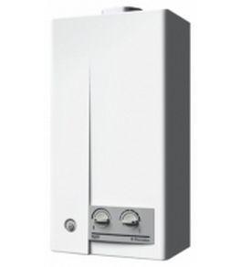 Газовая колонка с электронным розжигом горелки и автоматическим контролем температуры нагрева