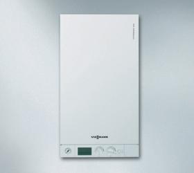 Газовый конденсационный котёл Viessmann Vitodens 100-w, 26 кВт, двухконтурный, в комплекте с дымоходом