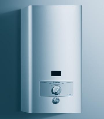 Газовый проточный водонагреватель(коло нка) Vaillant MAG PRO