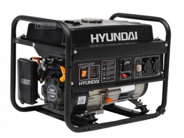 Генератор бензиновый HYUNDAI HHY 2500F 2,5 кВт однофазный